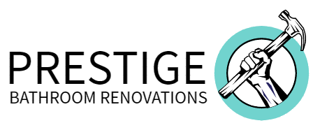 Prestige Bathroom Renovations Logo Footer